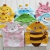 Полотенце-пончо для детей