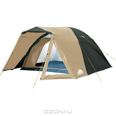 """Палатка Trek Planet """"Peru 3"""", цвет: зеленый, песочный"""