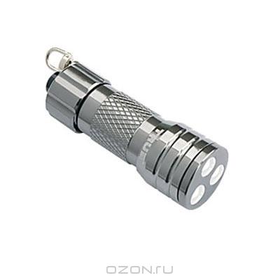 "Фонарь-брелок ""Compact MicroLite"", цвет: серебристый"