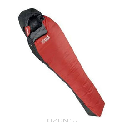 """Спальный мешок-кокон Lafuma """"Warm'n Light 1000"""", цвет: серый, красный"""